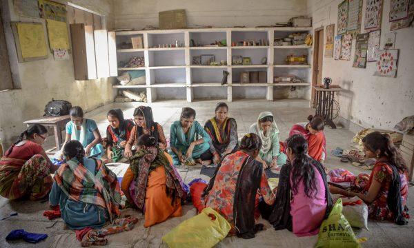 Indien Mädchen Berufsausbildung MZF