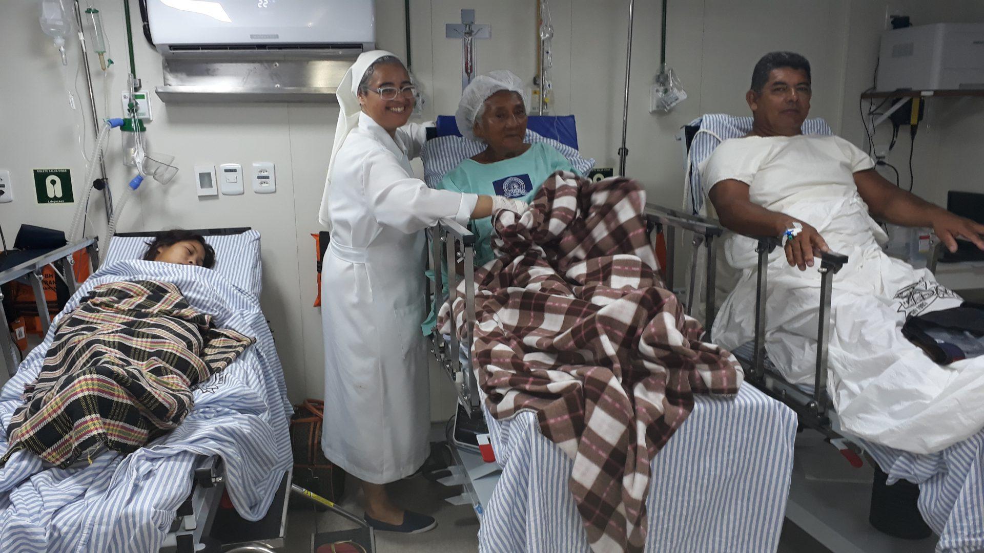 Krankenhausschiff Innen