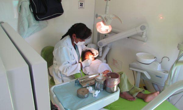 Eine Gesundheitsstation in der Peripherie Boliviens