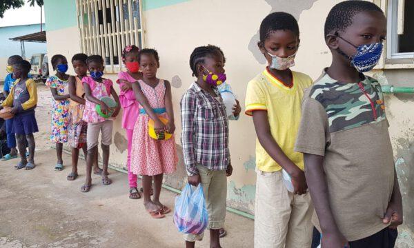 Die Kinder der Bom Pastor Schule