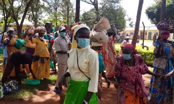 Corona Nothilfe Uganda